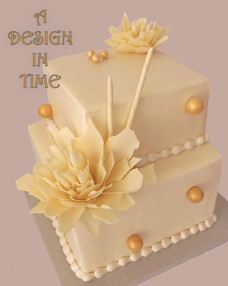 A DESIGN IN TIME - CHOCOLATE ART CAKES