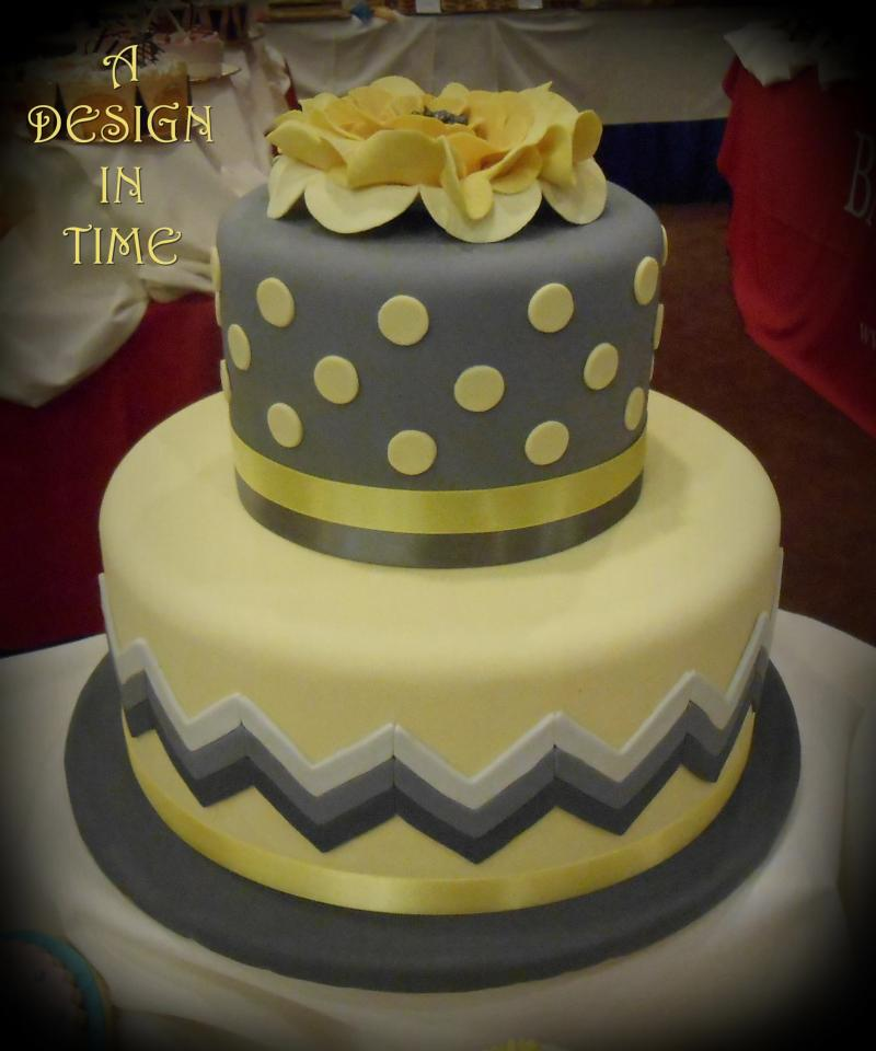 A DESIGN IN TIME - MODERN WEDDING CAKES